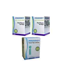 PRODIGY NO CODING + PRODGIY TWIST TOP LANCETS