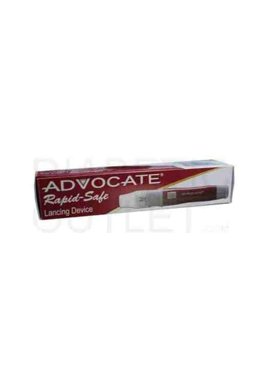 Advocate-Red-Dot-Lancing-Device