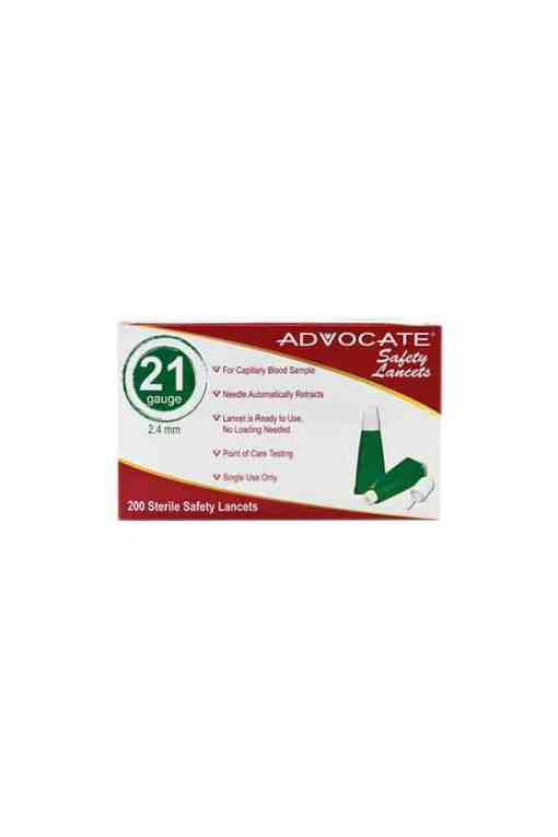 advocate-safety-lancets-21g-200-count-box