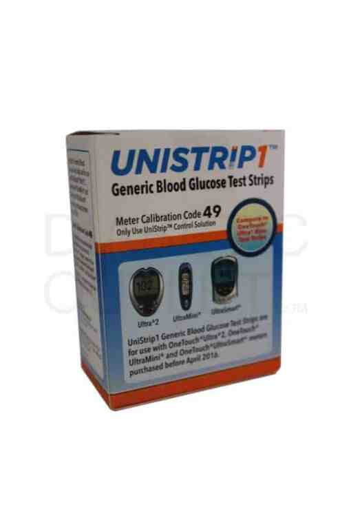 UNISTRIP1 TEST STRIPS 50ct. AUTOSHIP