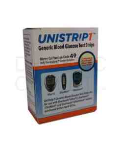 UNISTRIP1 TEST STRIPS 50ct.