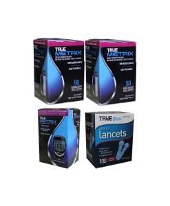 True-Metrix-Test-Strips-and-True-Metrix-Meter-and-TruePlus-lancets