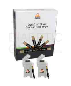DARIO TEST STRIPS 50ct. AUTOSHIP