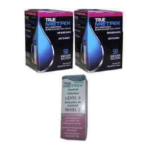 True-Metrix-test-strips-and-true-metrix-control-solution-level3-high