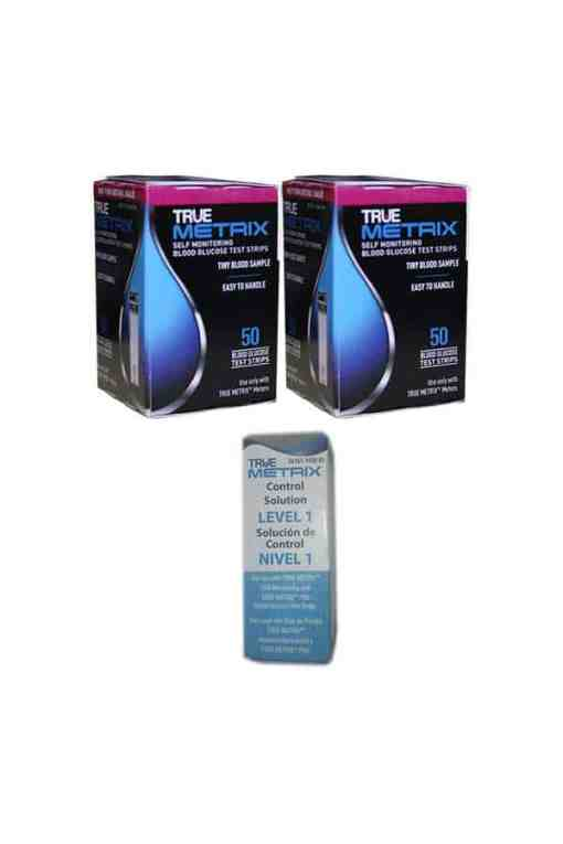 True-Metrix-test-strips-and-true-metrix-control-soution-level1-low