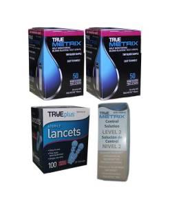 True-Metrix-test-strips-true-plus-lancets-true-metrix-control-solution-level2-medium