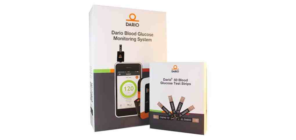 Dario-glucose-test-strips-and-meter