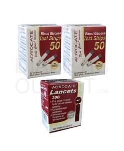 Advocate-redicode-test-strips-+-twist-top-lancets