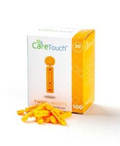 Caretouch-twist-top-lancets 30g 100 count-