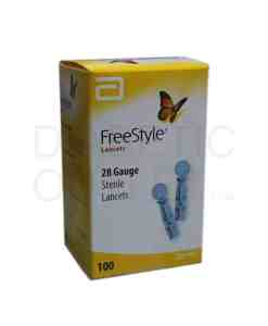 FREESTYLE LANCETS 100ct. 28G