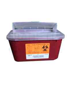 MEDEGEN SHARPS CONTAINER 1 GAL STACKABLE