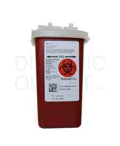 MEDTRONIC AUTODROP SHARPS CONTAINER 1 QUART