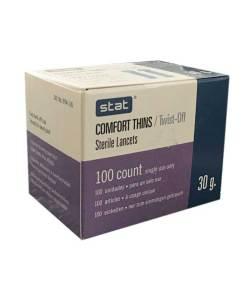 Stat-comfort-thins-lancets-twist-30g