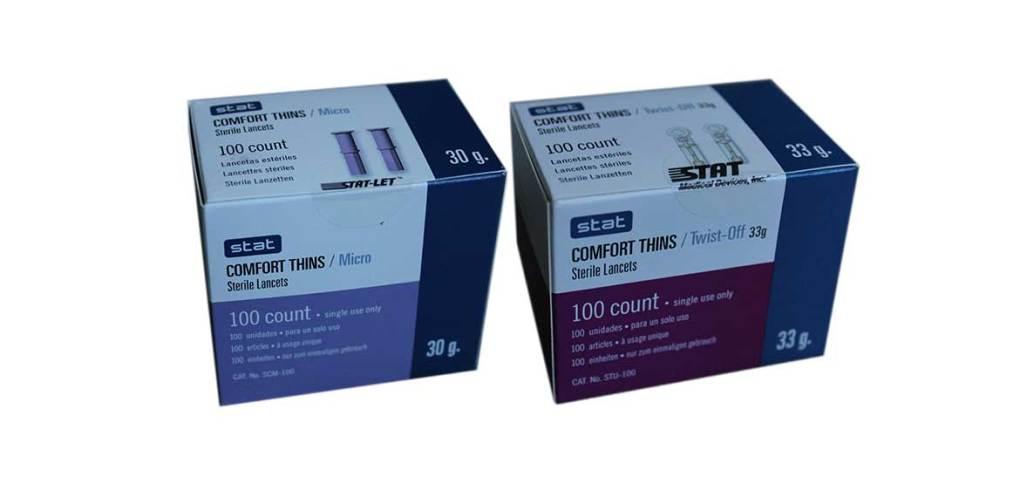 Stat-Comfort-thins-lancets-most-affordable-lancets