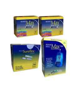 Nova-max-test-strips-nova-sureflex-lancets-nove-max-plus-meter