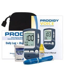 Prodigy-Voice-glucose-meter-kit