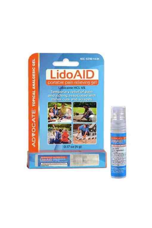 Advocate-LidoAID-portable-pain-releiving-gel