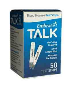 Embrace Talk test strips