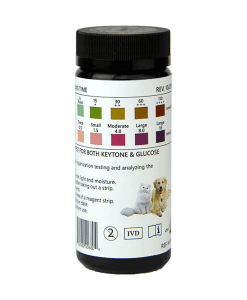 PetTest Reagent Strips for urinalysis pets