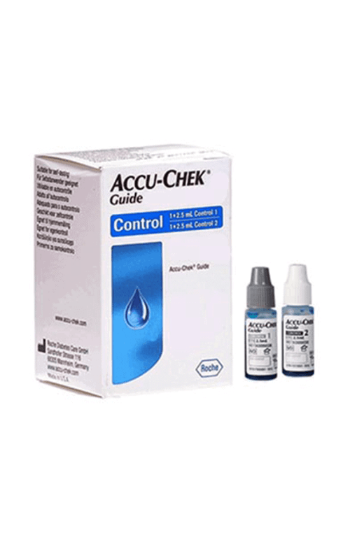 accu-chek guide control solution l1 and l2