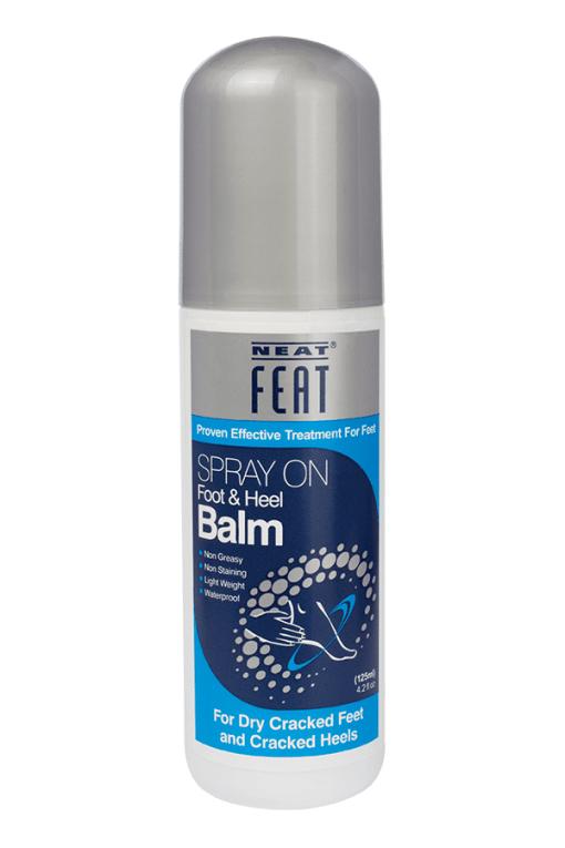 NEAT FEAT SPRAY ON FOOT & HEEL BALM