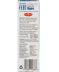 Neat Feat Spray On Foot And Heel Balm Neat Feat