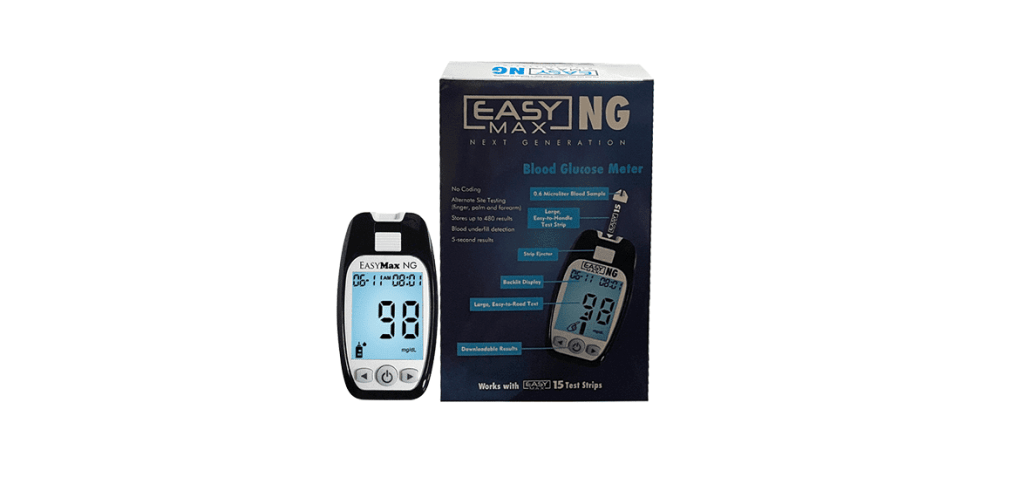 EasyMax NG Next Generation Blood Glucose Monitoring System