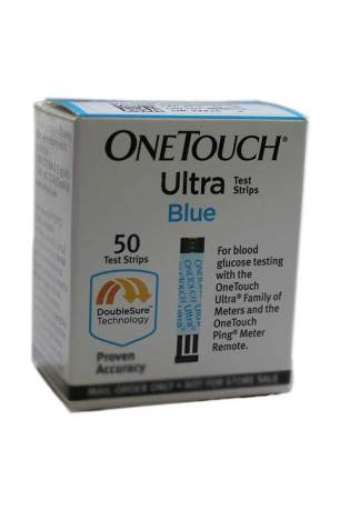 ONETOUCH ULTRA BLUE TEST STRIPS 50 CT