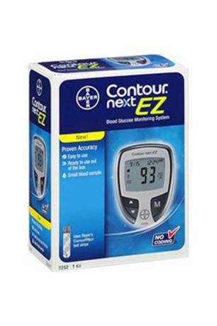 BAYER CONTOUR NEXT EZ GLUCOSE METER KIT