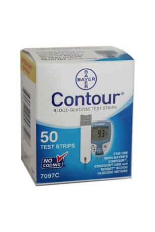 BAYER CONTOUR TEST STRIPS 50ct.