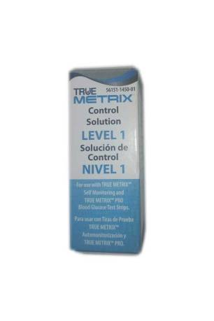 NIPRO TRUE METRIX CONTROL SOLUTION LEVEL 1 (LOW)