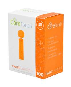 CareTouch-Vista-Twist-Top-Lancets-100-count-28G