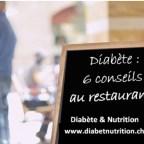 diabète, restaurant, conseils