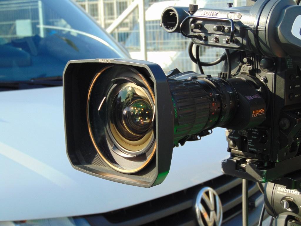 broadcast, tv, camera