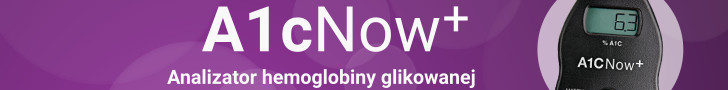 A1cNow+. Analizator hemoglobiny glikowanej.