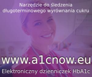 Narzędzie do śledzenia długoterminowego wyrównania cukru. www.a1cnow.eu. Elektoniczny dzienniczek HaA1c