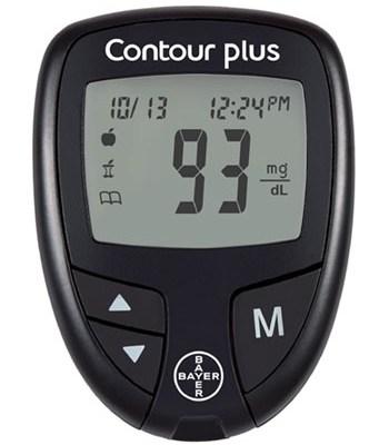 Glukometr Bayer-Ascensia Contour Plus