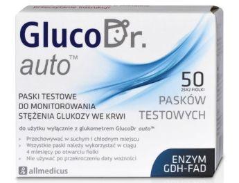 Opakowanie 50 Pasków testowych GlucoDr auto