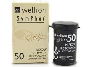 Opakowanie 50 Pasków testowych Wellion Symphar