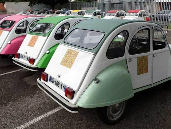 Personnalisation voiture 2CV Diabolo