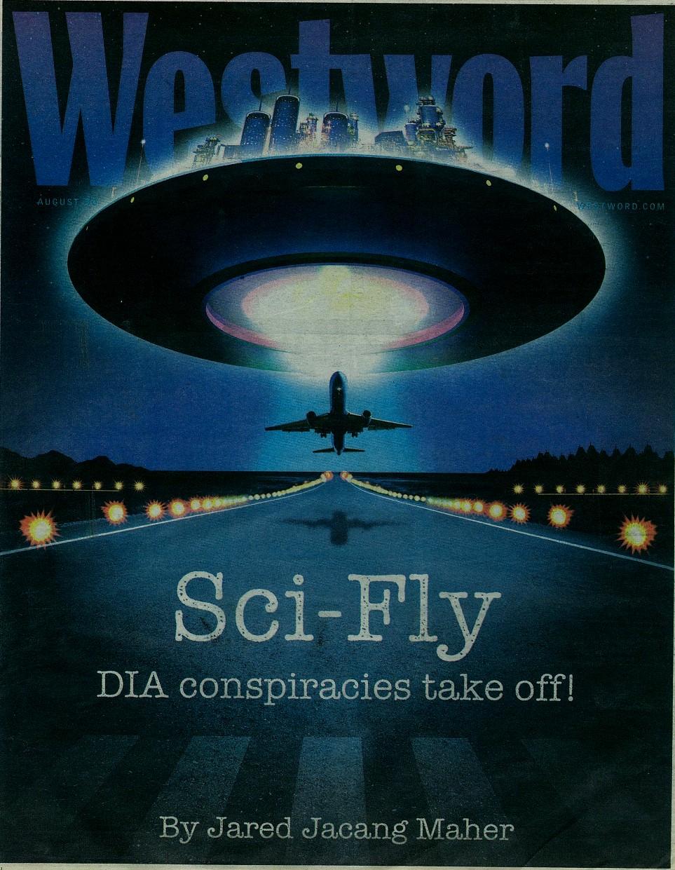 30 de agosto 2007 edición del periódico Westword de Denver