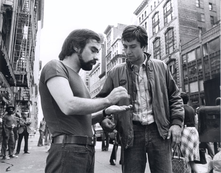 Martin Scorsese et Robert De Niro, Taxi Driver, 1976. Martin Scorsese Collection, New York.