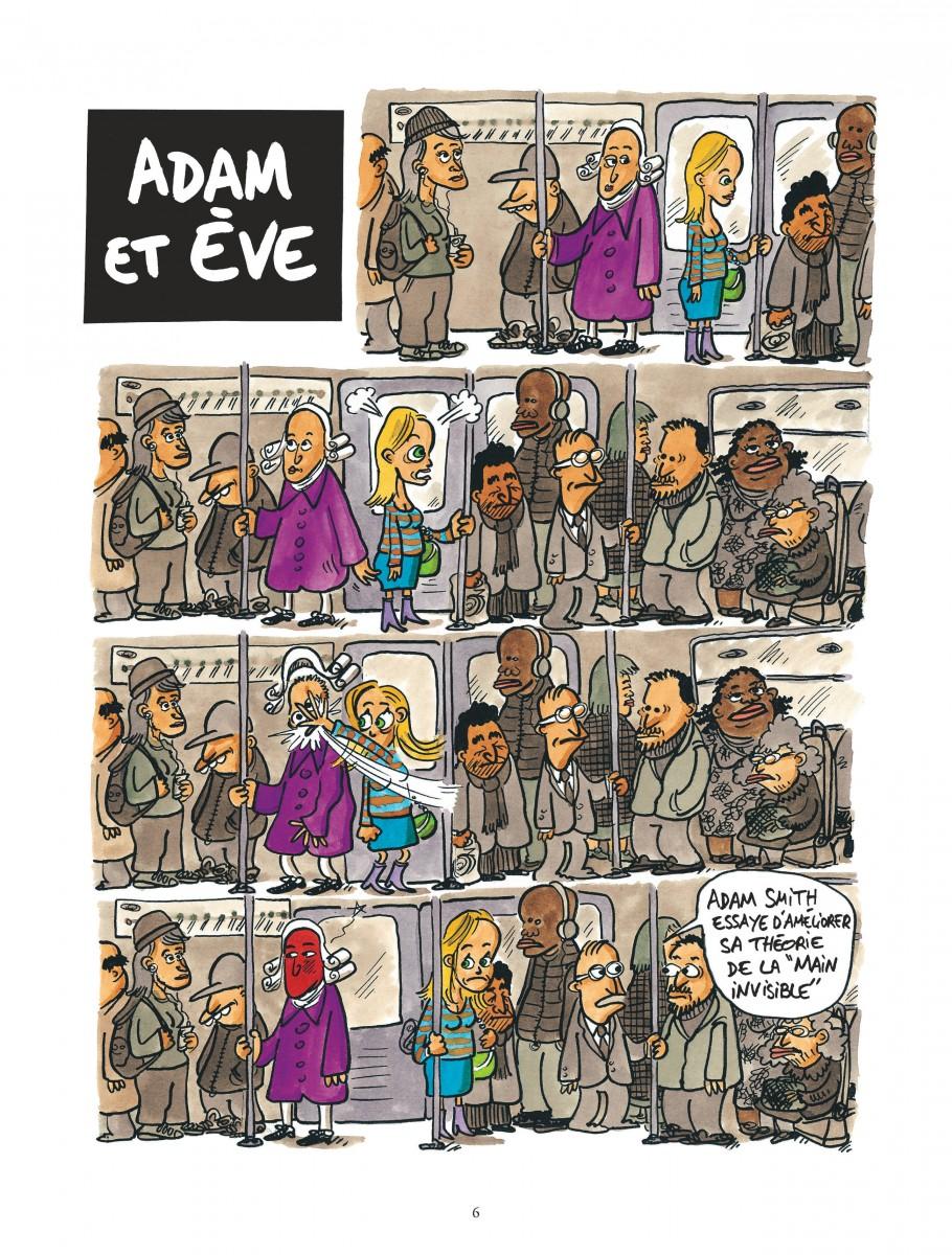 © Charles Pépin et Jul La Planète des Sages, Tome 2, Dargaud