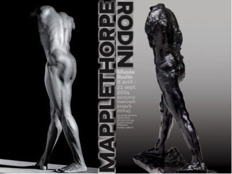 Mapplethorpe-Rodin, exposition 8 avril-21 septembre 2014.