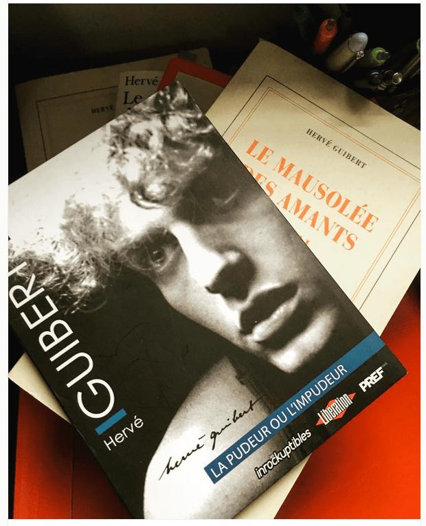 Hervé Guibert © Christine Marcandier