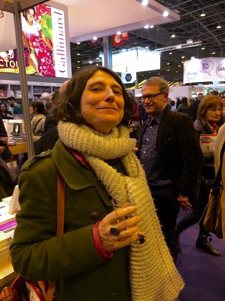 Notre Diacritik globe-trotteuse Sophie Quetteville (et Yves Pagès, en arrière-plan)