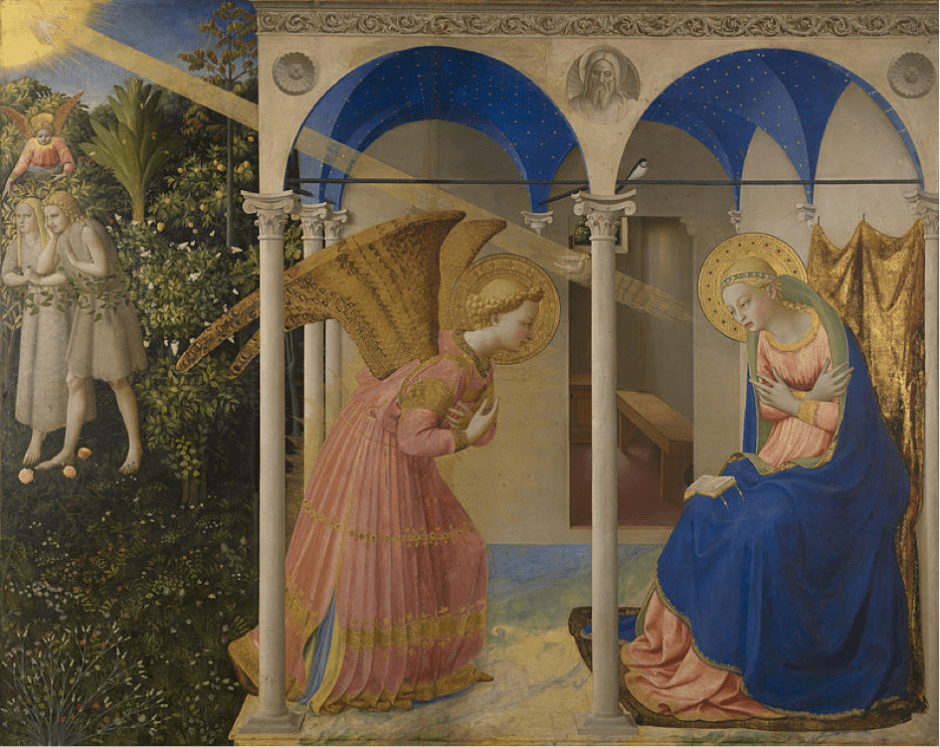 Fra Angelico, L'Annonciation