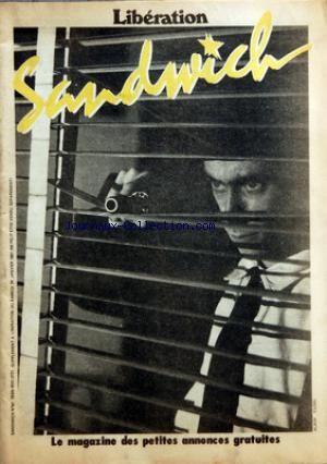 Sandwich 24 janvier 1980