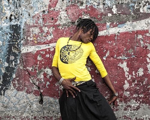 Régis Samba-Kounzi, Claudia, quartier de Kimbanseke, Kinshasa RDC, 2015