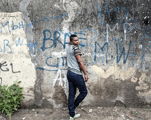 Régis Samba-Kounzi, Laure, quartier de Bandalungwa, Kinshasa RDC, 2015